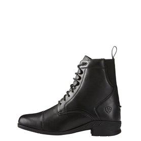 """Boots ARIAT """"HERITAGE IV PADDOCK"""" à lacets Noire"""