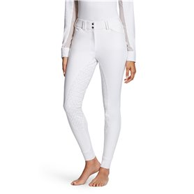 "Pantalon équitation ARIAT ""Tri factor"" Blanc"