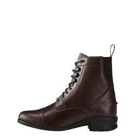 """Boots ARIAT """"HERITAGE IV PADDOCK"""" à lacets Brun"""