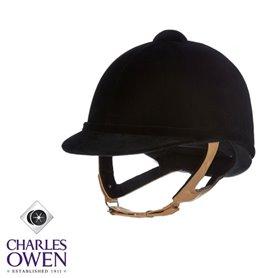 Casques Charles Owen Wellington Classic Noir