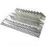 Etrille aluminium plate rectangulaire