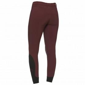 Pantalon CAVALLERIA TOSCANA NEW GRIP SYSTEM Bordeaux