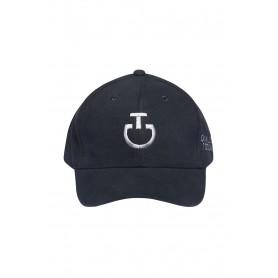 Casquette CAVALLERIA TOSCANA Marine logo gris