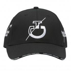 Casquette CAVALLERIA TOSCANA Logo team noir