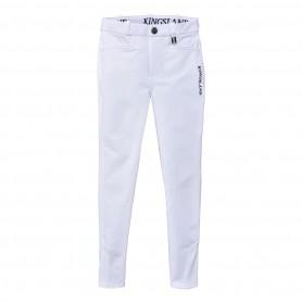 """Pantalon Kingsland de concours """"KITTY"""" blanc"""