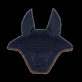 "Bonnet ""WELLINGTON"" leather marine"